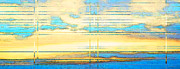 Cloud Mixed Media Posters - Coud Study 2 - Abstract Skyscape by Sharon Cummings Poster by Sharon Cummings