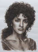 Enterprise Painting Originals - counselor Deanna Troi Star Trek TNG by Giulia Riva