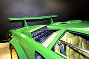 Lamborghini Prints - Countach 2 Print by Cheryl Young