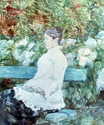 Backyard Paintings - Countess Lautrec by Henri de Toulouse-Lautrec