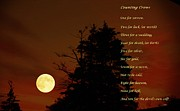 Counting Crows - Old Superstitious Nursery Rhyme Print by Barbara Griffin
