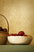 Fruit Basket Prints - Country Apples Print by Margie Hurwich