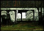 Barn Digital Art Metal Prints - Country Architecture  Metal Print by Steven  Digman