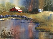 Barb Capeletti - Country Barn and Lake