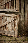 Barn Door Photo Prints - Country Charm Print by Amy Weiss