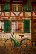French Door Prints - Country Charm Print by Debra and Dave Vanderlaan