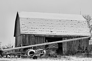 Barn In The Woods Photos - Country Christmas by Dan Sproul