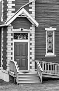 Steve Harrington - Country Church Door bw