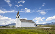 Daysray Photography Prints - Country Church Print by Fran Riley