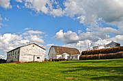 Amish Family Art - Country Farm by Robert Harmon
