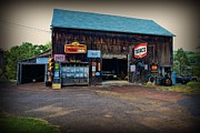 Auto Repair Framed Prints - Country Garage Framed Print by Paul Ward