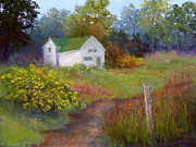 House Pastels - Country Garden by Christine Bass