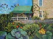 Farmhouse Originals - Country Garden by Diane Hutchinson