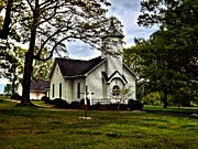 Country Church Prints - Country Grace Print by David Walsh