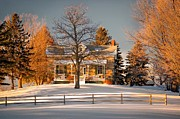 Country Living Photos - Country Home by Steve Harrington