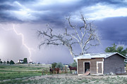 James Bo Insogna - Country Horses Lightning Storm CO