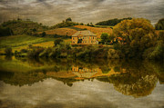 Winery Digital Art - Country house by Vjekoslav Antic