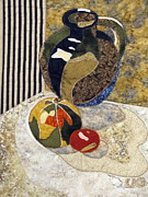 Still Life Tapestries Textiles Posters - Country Kitchen Poster by Lynda K Boardman