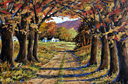 Canadian Landscape Prints - Country Livin  Print by Richard T Pranke