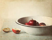Apple Still Life Art - Country Morning by Amy Weiss