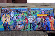 Tennessee. Country Music Prints - Country Music Mural Print by David Lee Thompson