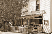 New England Village Digital Art Posters - Country Restaurant Poster by Kirt Tisdale