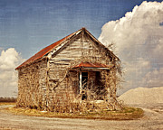 Marty Koch  Metal Prints - Country Schoolhouse  Metal Print by Marty Koch