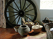 Baskets Photo Originals - Country Setting by Hugh Peralta