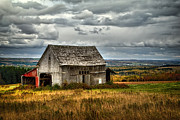 Barn Storm Prints - Country Side Barn Print by Gary Smith