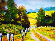 Pathway Paintings - Country Side by Ryszard Sleczka