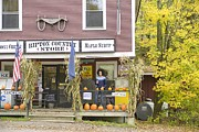 Vermont Country Store Framed Prints - Country Store Framed Print by Christian Heeb