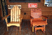 Coca-cola Sign Art - Country Store by Frank Romeo