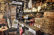 Country Store Metal Prints - Country Store Supplies Metal Print by Ken Smith