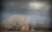 Turbulent Skies Art - Country Storms.. by Al  Swasey