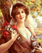 Kitten Digital Art - Country Summer by Emile Vernon