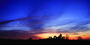 Daviess County Photo Prints - Country Sunset Print by Wendell Thompson