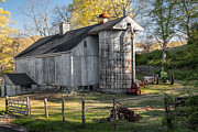 Old Barn Art - Country Time by Bill  Wakeley