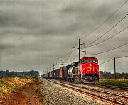 Train Car Photos - Country Train 1 by Thomas Young