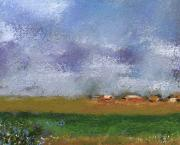 Miniature Pastels - Countryside by David Patterson