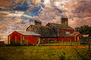 Old Country Roads Prints - Countryside Print by Debra and Dave Vanderlaan