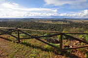 Vastness Prints - Countryside Viewpoint Print by Carlos Caetano