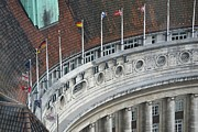 Arial View Photos - County Hall- London by Stephanie Guinn