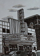 County Theater Print by Christina Schott