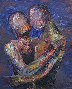 Attachment Paintings - Couple by Colleen Murphy