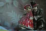 Figurine Mixed Media - Couple by Mark Zelmer