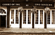 The Two Sisters Art - Court of the Two Sisters by John Rizzuto