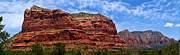 Oak Creek Photos - Courthouse Butte Rock Formation Sedona Arizona by Amy Cicconi