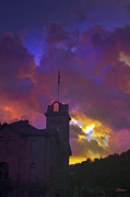 Eureka Springs Art - Courthouse by Kat Besthorn