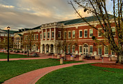 Dining Hall Prints - Courtyard Dining Hall - WCU Print by Greg and Chrystal Mimbs