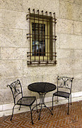 Betty Denise - Courtyard Seating for Two